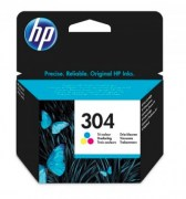 HP Cartridge N9K05AE No.304 Color ZTR CHS