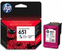 HP Cartridge C2P11AE No.651 Color ZTR CHS