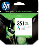 HP Cartridge CB338EE No.351XL Color ZTR CHS